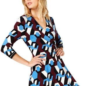 NWT I N.C Asymetrical dress Sz Large